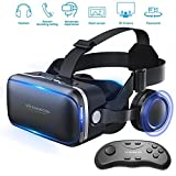 Vr Shinecon Vr Headset for Phone Cool Virtual Reality Goggles for Beginner,