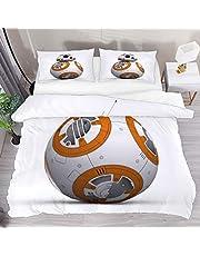 Påslakan hela Star Wars robot Bb 8 2 st sängkläder påslakan set täcke täcke täcke täcke täcke 1 örngott 1 påslakan