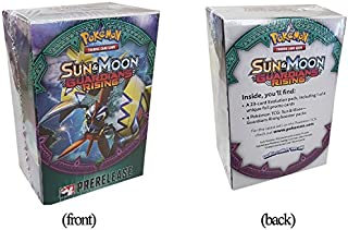 Pokemon Card Game Guardians Rising Sun & Moon TCG Prerelease Booster kit box