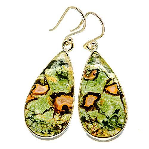 Ana Silver Co Rainforest Opal Earrings 1 3/4' (925 Sterling Silver)