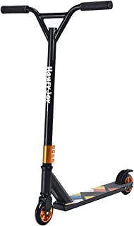 HONEY JOY Stunt Scooter, Lightweight Aluminum Kick Scooter with PU Wheels, Premium Freestyle Scooter for Age 7 Up Kids, Boys, Girls