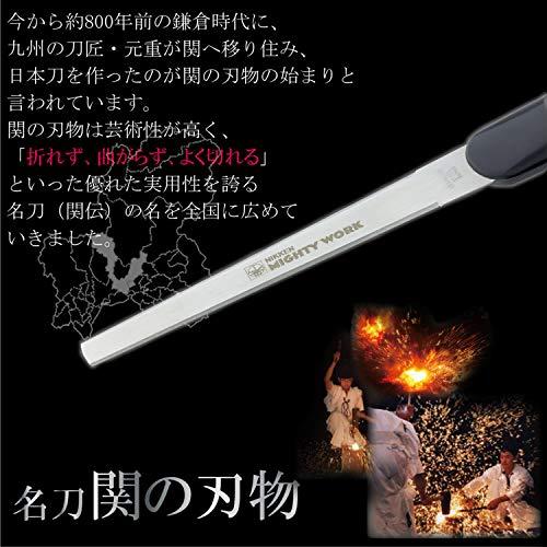 ニッケン刃物安全キャップ付ペーパーナイフUP-600BKブラック