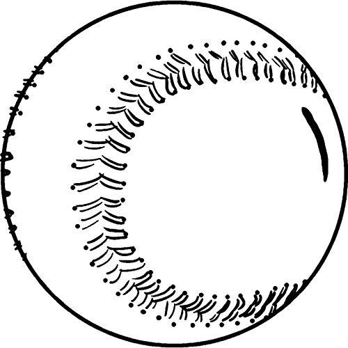 A7 'Baseball' Stempel (Unmontiert) (RS00032966)