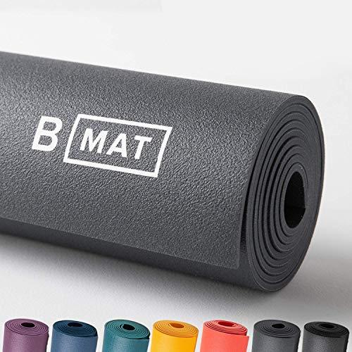 B YOGA B Mat Everyday Yoga-Matte, Anthrazit, 180 cm