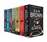 Robert Langdon Series Collection 7 Books Set By Dan Brown (Angels And Demons, The Da Vinci Code, The Lost Symbol, Inferno, Origin, Digital Fortress, Deception Point)