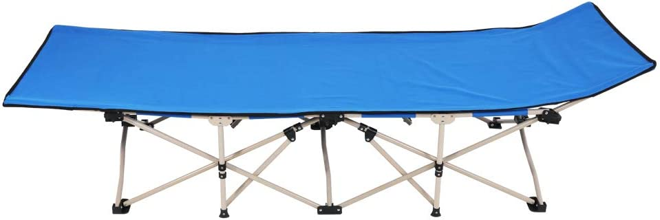 Indianapolis Mall Folding Camping Cot Outdoor Foldable Tr for New sales Ten-Foot Bed