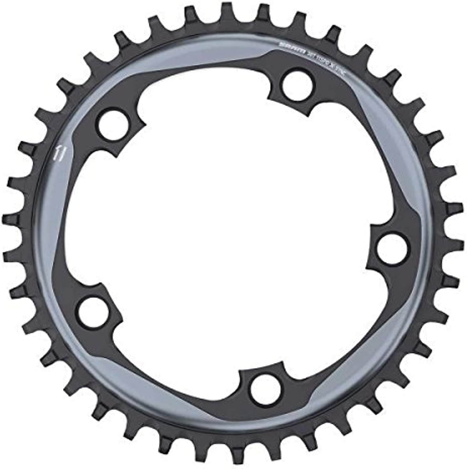 SRAM 11 Speed 52T 130 BCD XSync Bicycle Chain Ring, Grey