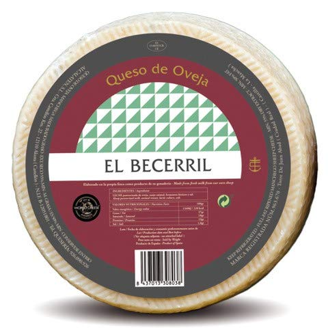 El Becerril queso tierno puro de oveja 3000 gr