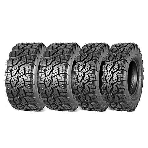 Set of 4 Maxauto ATV UTV Tire 29x9x14 & 29x11x14 All Terrain Tire 29x9-14 Front 29x11-14 Rear Off-Road Tires Radial Tire Mud Sand Trail Tire 6PR Tubeless