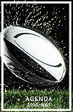 Agenda 2020 2021: Agenda Scolaire Journalier Rugby pour étudiant collège lycée université ( De Septembre 2020 à Août 2021 )