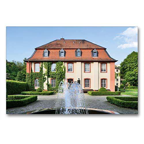 CALVENDO Premium Textil-Leinwand 90 x 60 cm Quer-Format Standesamt, Leinwanddruck von Petrus Bodenstaff