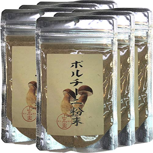 本場イタリア産無農薬100% ポルチーニ茸の粉末 40g×6袋 巣鴨のお茶屋さん 山年園