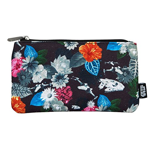 Star Wars by Loungefly Coin/Cosmetic Bag Floral Print Borse