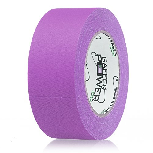 Gaffers Tape 2 Inch | Purple | USA Made Quality | Leaves No Residue | by Gaffer Power
