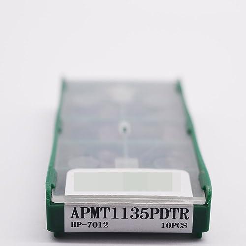 lowest ZIMING-1 discount 10pcs APMT1135PDTR HP-7012 CNC Carbide Inserts toolsSuitable for machining Steel outlet online sale parts sale