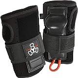 Triple Eight RD Wristsaver Wrist Guards for Roller Derby and Skateboarding (1 Pair), Medium, Black
