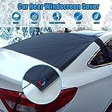 M-PENG magnetische Auto Heckscheibe Schneedecke Anti-Folie Eisstaub Sonne Windschutzscheibe Frostschutz