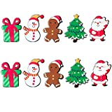 SYXX Joyas Broche de Navidad, Insignia Pequeño muñeco de Nieve Pin suéter Accesorios Salvaje, for la Broche Familia de la Historieta, Decoraciones del Partido, Regalos, Ropa de