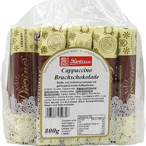 Parlasca Schokoladen Riegel Milchschokolade Cappuccino 800g MHD:1/21