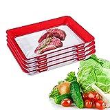 Bandeja creativa de conservación de alimentos, recipientes de almacenamiento de...