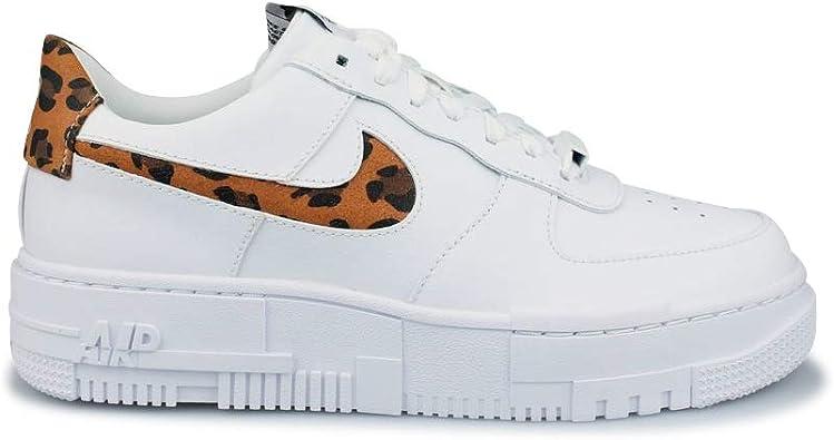 Nike Women's Shoes Air Force 1 Pixel SE Leopard Print CV8481-100