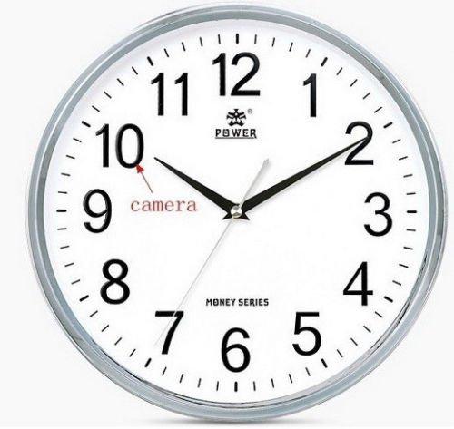 Reloj de pared WIFI Cámara oculta P2P IP dvr Spy Covert de grabación de detección de movimiento iPhone Android control remoto Internet wireless home seguridad Baby Monitor niñera Cam