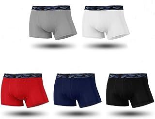 Divilon Men's Sexy Breathable Ice Silk Underwear Boxer Shorts for Men