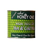 Aspar Honey One Aloe Vera Flavoured Hot Wax For Hair Removal for women (600gm)