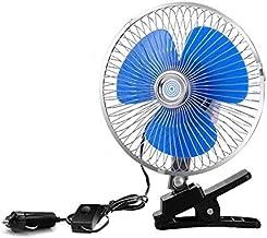 JULABO Durable Ventilateur électrique intérieur de Voiture Ventilateur électrique intérieur de Mini Ventilateur 12v 6 Pouc...