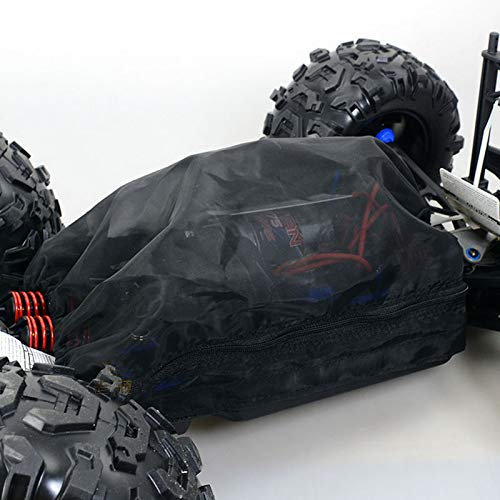 TOOGOO Rei?Verschluss Typ Staub Wasserdicht Netz Abdeckung Schutz Netz Abdeckung Staub Schutz für 1/10 E-Revo ERevo 2.0 Summit Rc Auto Teile