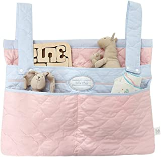 Bed Hanging Organizer Baby Diaper Hanging Organizer  Toddler Bed Toy Organizer Hanging Bag For Baby Cot Bunk Bed  Color Picture Color  Size 57X43CM