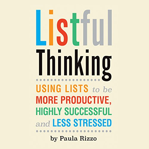 Listful Thinking audiobook cover art