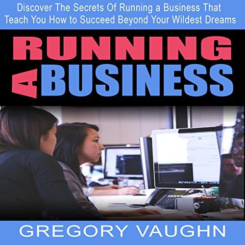 Running a Business audiobook cover art