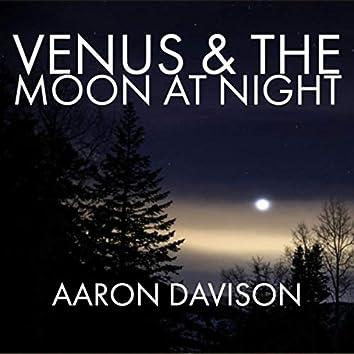 Venus & the Moon at Night