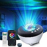 Lampada Proiettore Stelle Galassia - LED Musicale Proiettore con Telecomando Bluetooth, Compatibile con Alexa/Google Assistant, Festival/Camera da Letto/Bambini o Adulto Regalo