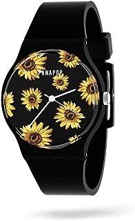 Reloj Mujer PNP Watches | Relojes Mujer Pulsera | Reloj Analógico Mujer| Reloj de Mujer Correa Silicona | Relojes para Muj...