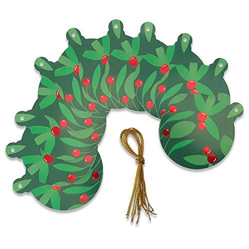Schone Products (UK) - Etichette regalo, confezione da 10, colore: verde