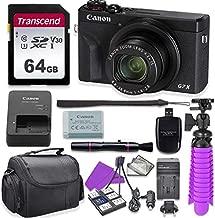 Canon PowerShot G7 X Mark III Digital Camera with 64GB U3 SD Memory Card + Accessory Bundle