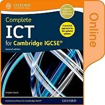 Complete ICT for Cambridge IGCSE Online Student Book (CIE IGCSE Complete Series)