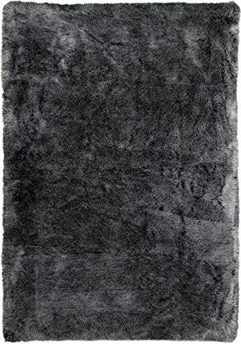 Fabelia Amoroso - Alfombra (acrílico, 120 x 170 cm), color gris