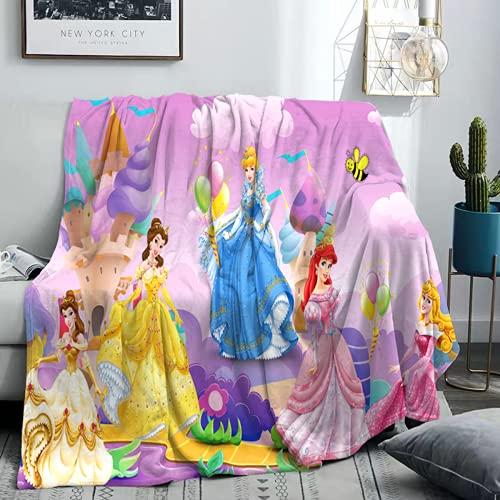 QWAS Manta de princesa Anna Sophia, Blancanieves, manta dulce, manta de sofá, manta de picnic (4,150 x 200 cm)