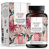 Haar Vitamine - 450mg Silizium hochdosiert & Biotin Zink Selen für Haare - Kieselsäure aus Bambus,...