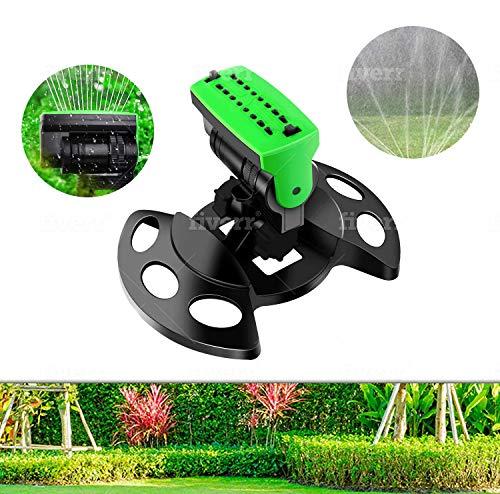 Mecherine - Irrigatore oscillante automatico, ideale per giardino, prato, di piccola e media,...