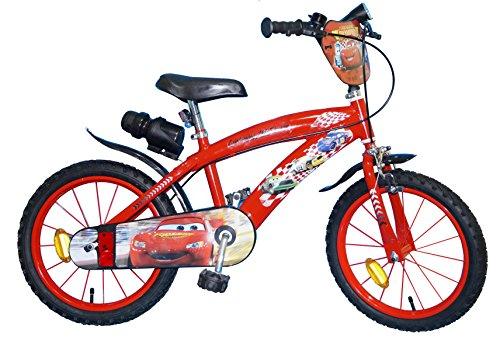 TOIMS Cars, Bicicletta per Bambini 14'