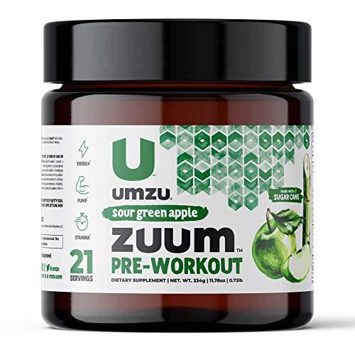 UMZU Zuum Pre-Workout (Sour Green Apple)