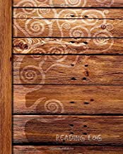 Reading Log: Gifts for Book Lovers (A reading journal with 100 spacious record pages and more in a large soft covered notebook from our Rustic range) (Reading Logs & Journals)