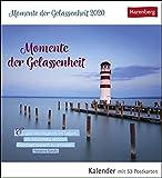 Momente der Gelassenheit Postkartenkalender 2020. Wochenkalendarium. Blockkalender. Format 16 x 17,5 cm - Harenberg