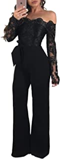 Best jumpsuit with lace back Reviews