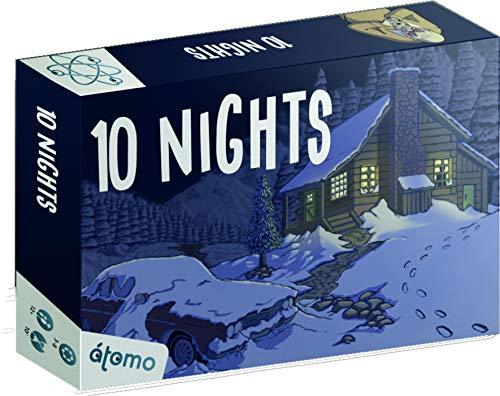 Last level-10 Nights (Eng-SPA) Juegos de Mesa, Multicolor (BGNIGHTS)