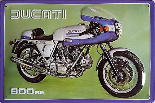 Cartel publicitario de Ducati Motocicleta, de alta calidad,